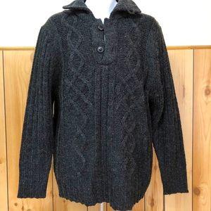 NWT Men's Heavy Knit Grandpa Sweater